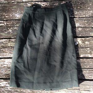 """Dresses & Skirts - 26"""" Waist Vintage Wool Skirt"""